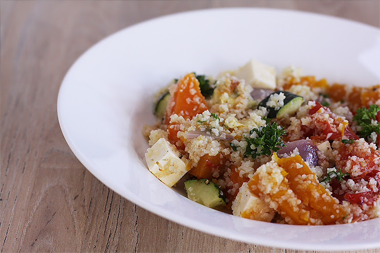 Roasted Vegetable Tabbouleh #2