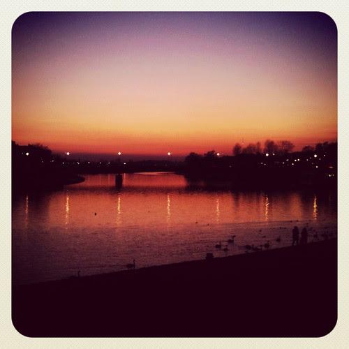 smörig solnedgång III