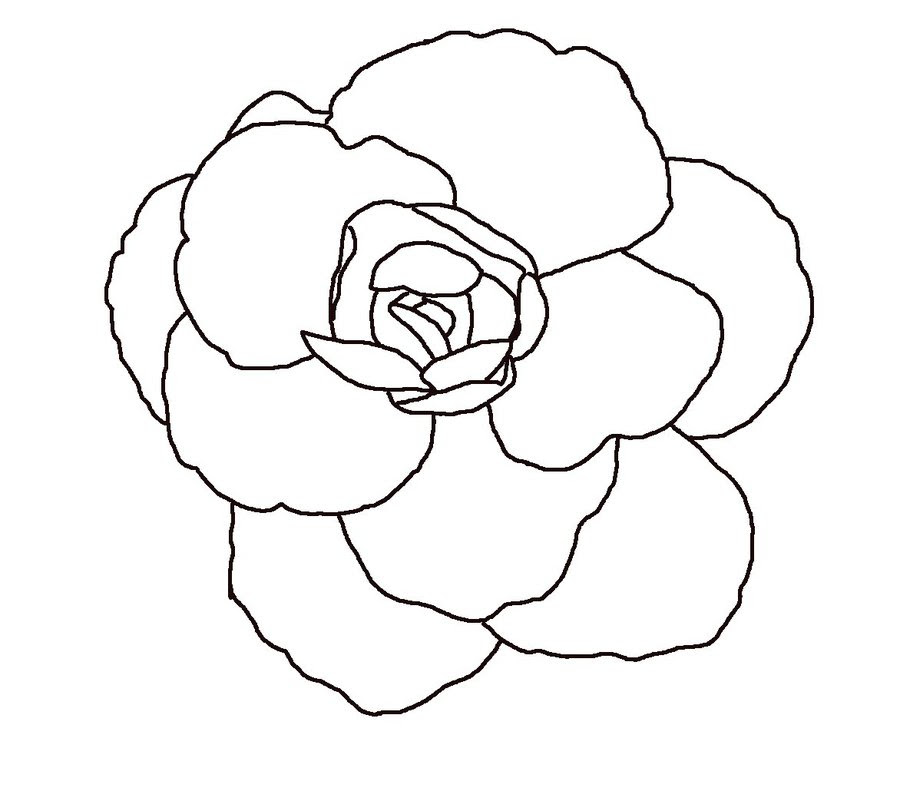 Free Flowers Line Drawing Download Free Clip Art Free Clip Art On Clipart Library