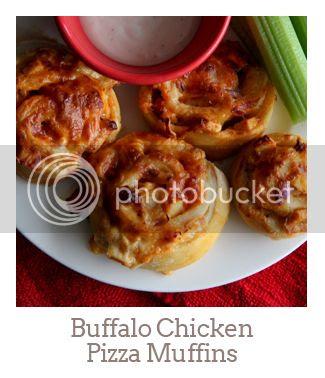 """""""Buffalo Chicken Pizza Muffins"""""""