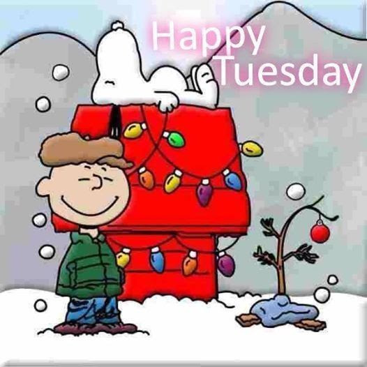 Christmas Snoopy Happy Tuesday Quote Pictures Photos And Images