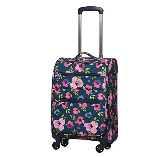 56e2ddfcaaa fashion blog: Offer 5 Cities CITIES689 Lightweight 55cm 4 Wheel Spinner  Carry On Travel Trolley Hand Cabin Luggage Suitc in Welwyn Hatfield, UK