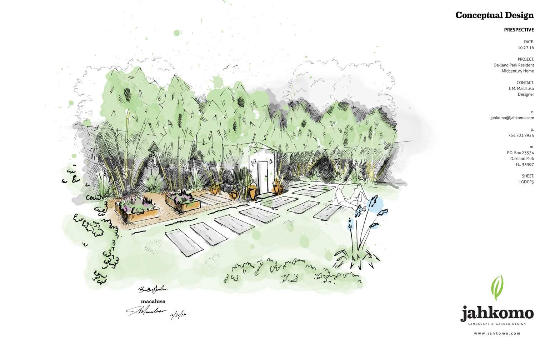 Bamboo Garden Landscape Design Jahkomo