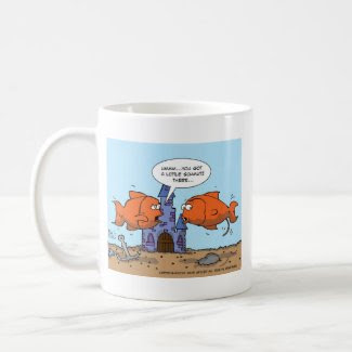 Two Goldfish--Friendship mug