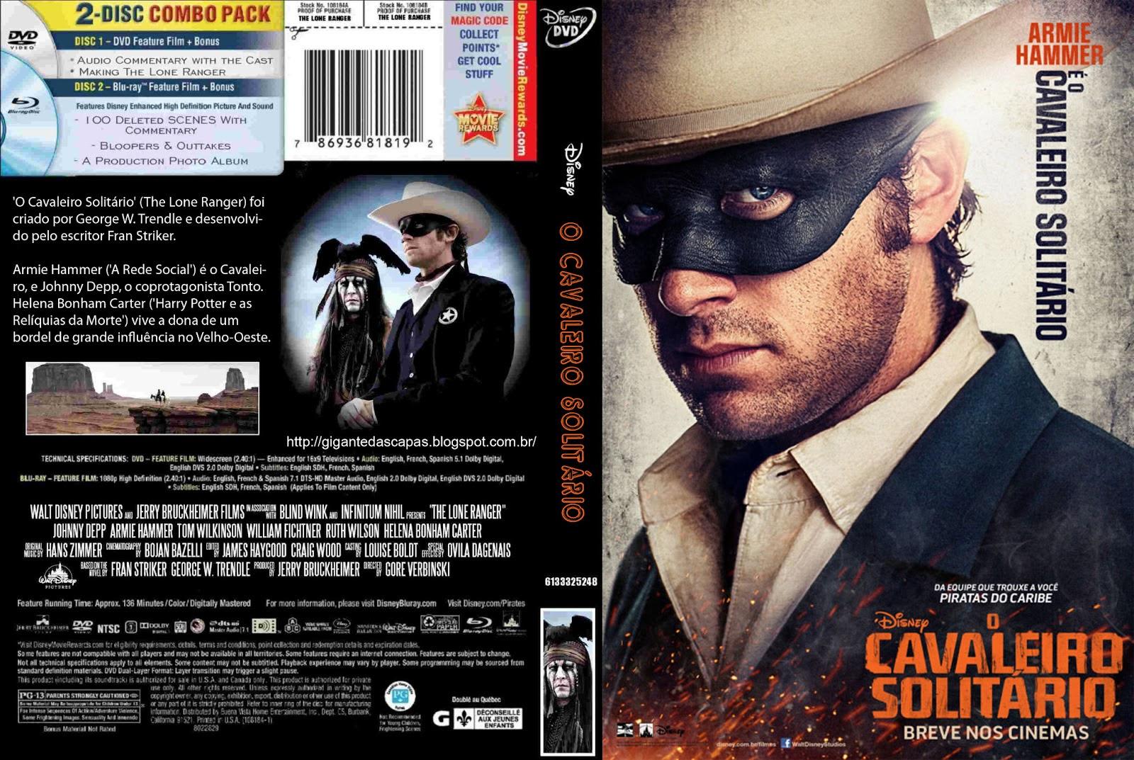 O Cavaleiro Solitário (The Lone Ranger) Torrent - Dublado (2013)