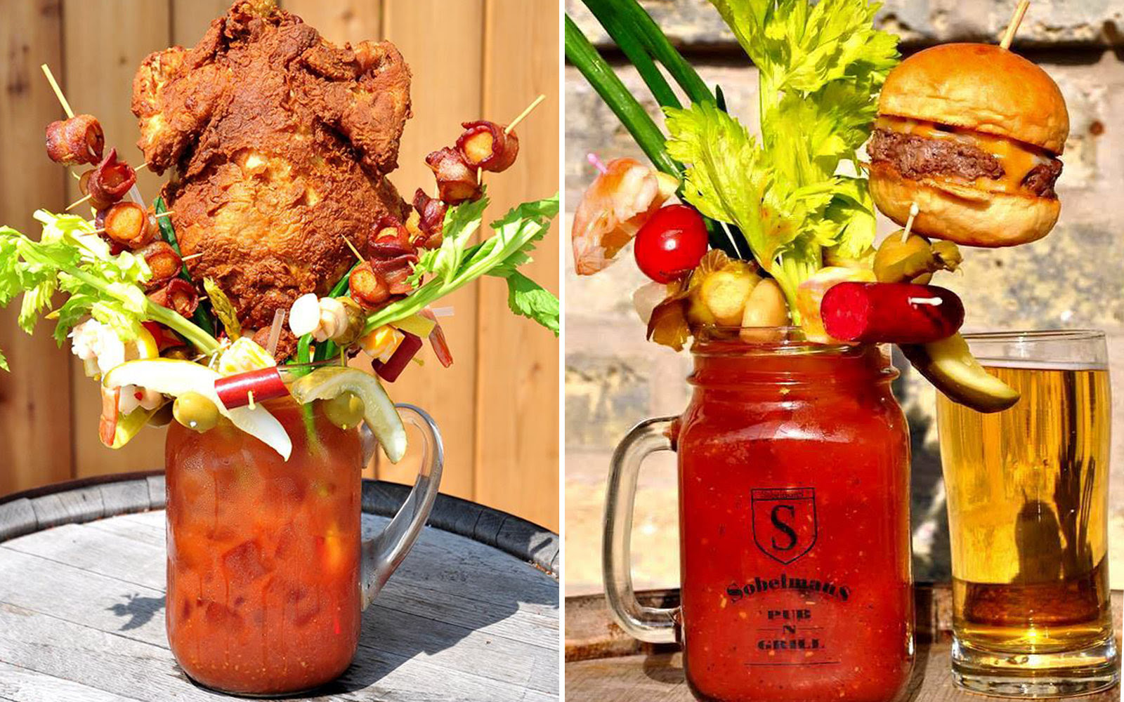 Image result for sobelman's bloody mary menu
