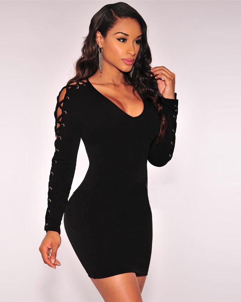 Club plus size long bodycon dresses