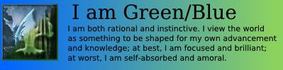I am Blue/Green