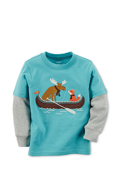 Carter's® Appliqued Moose Tee Boys 4-7