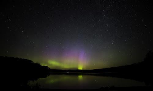 Northern Lights Over Thumb Lake