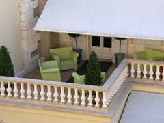 Roof Terrace in Angouleme