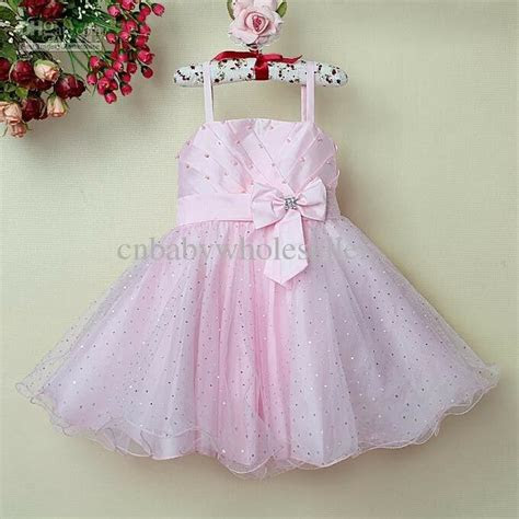 girl princess dress pretty kids pink formal dresses