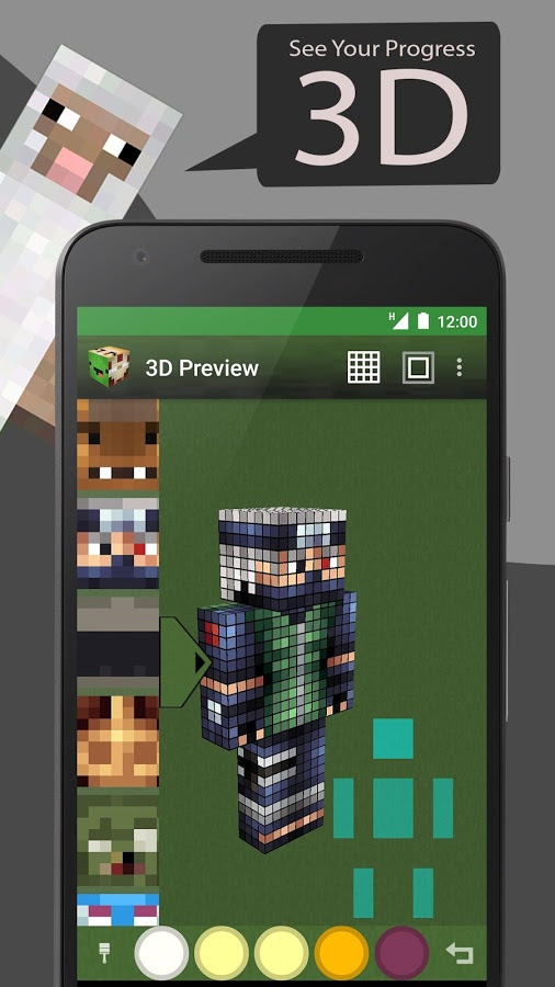 Skin Editor Tool For Minecraft Apk Thing Android Apps