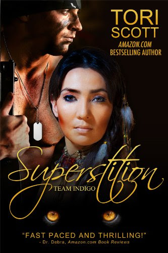 Superstition (Team Indigo) by Tori Scott