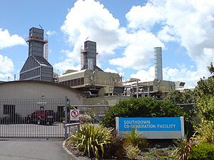 English: A Mighty River Power cogeneration pla...