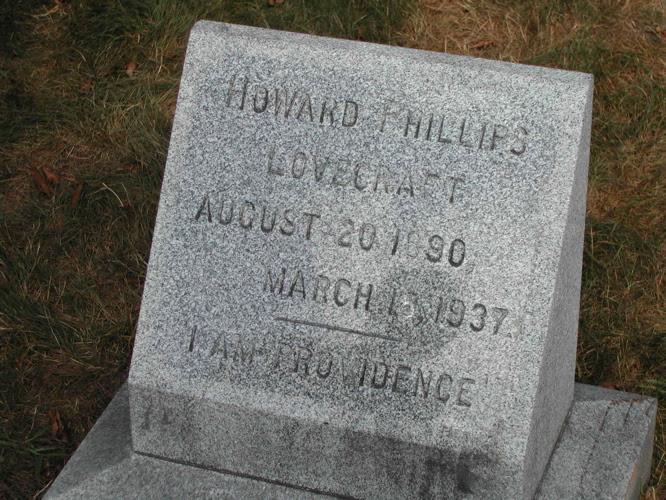 File:H.P. Lovecraft's grave.jpg