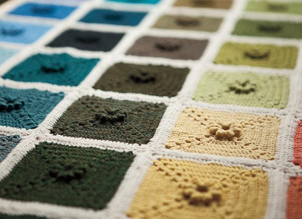 Ultimate Crochet Palette Blanket - Free Crochet Pattern