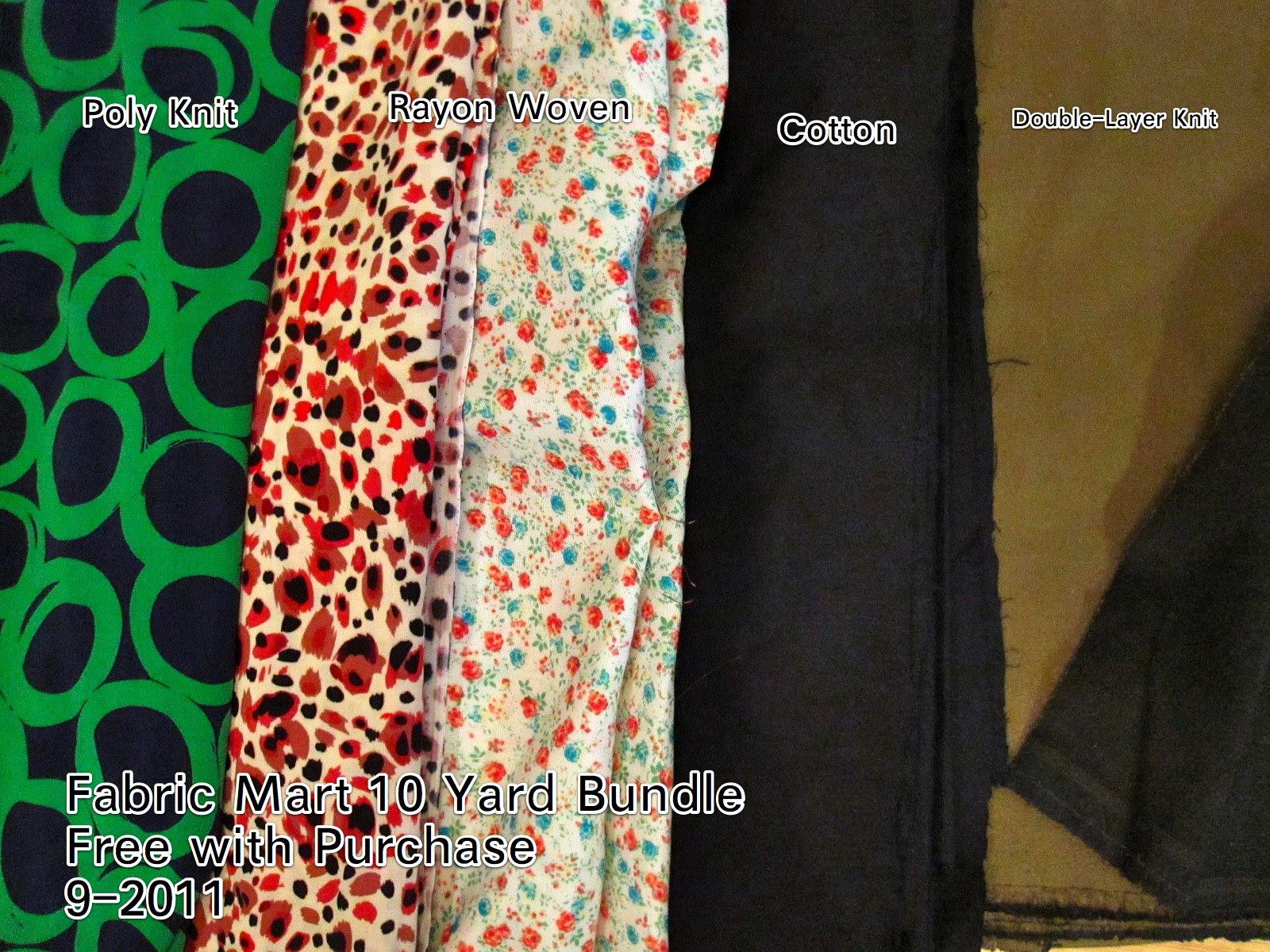 Fabric Mart Free Bundle 9-2011
