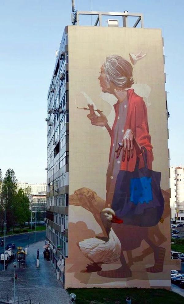 Amazing Huge Street Art on Building Walls (41)