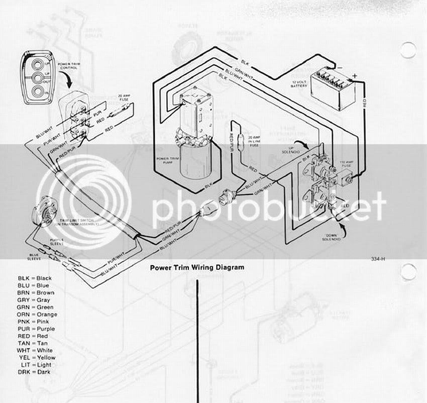 35 Mercruiser Trim Sender Wiring Diagram