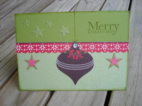 Old olive i wish card