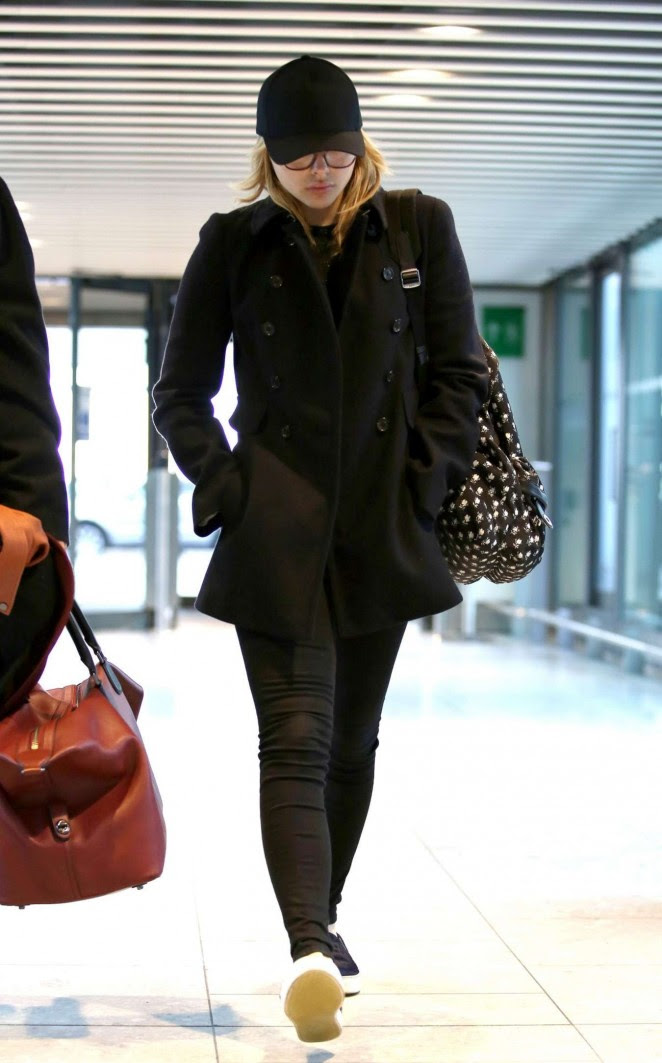 Chloe Moretz: Heathrow Airport -08