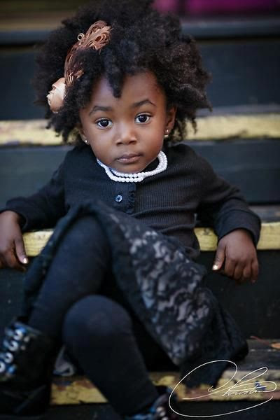 Pretty little black girl