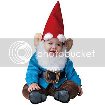 baby garden gnome costume