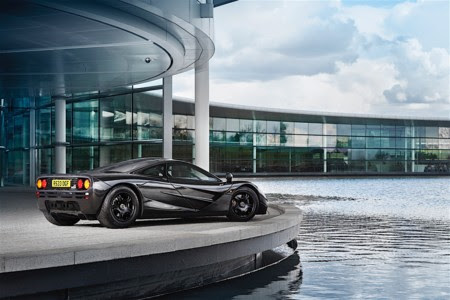 McLaren pone a la venta un inmaculado McLaren F1