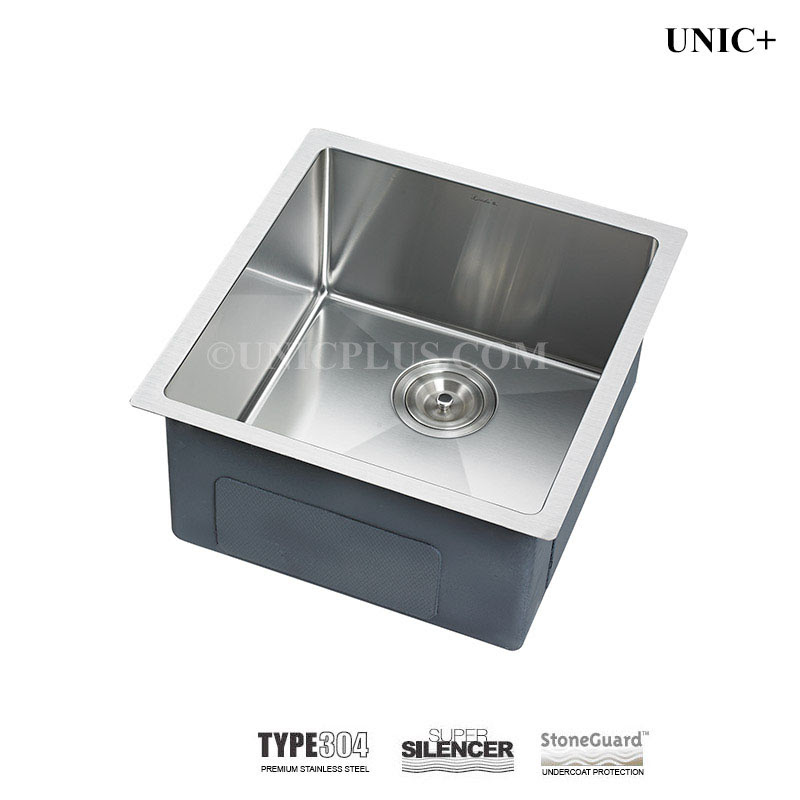 17 Inch Small Radius Style Stainless Steel Under Mount Kitchen Bar