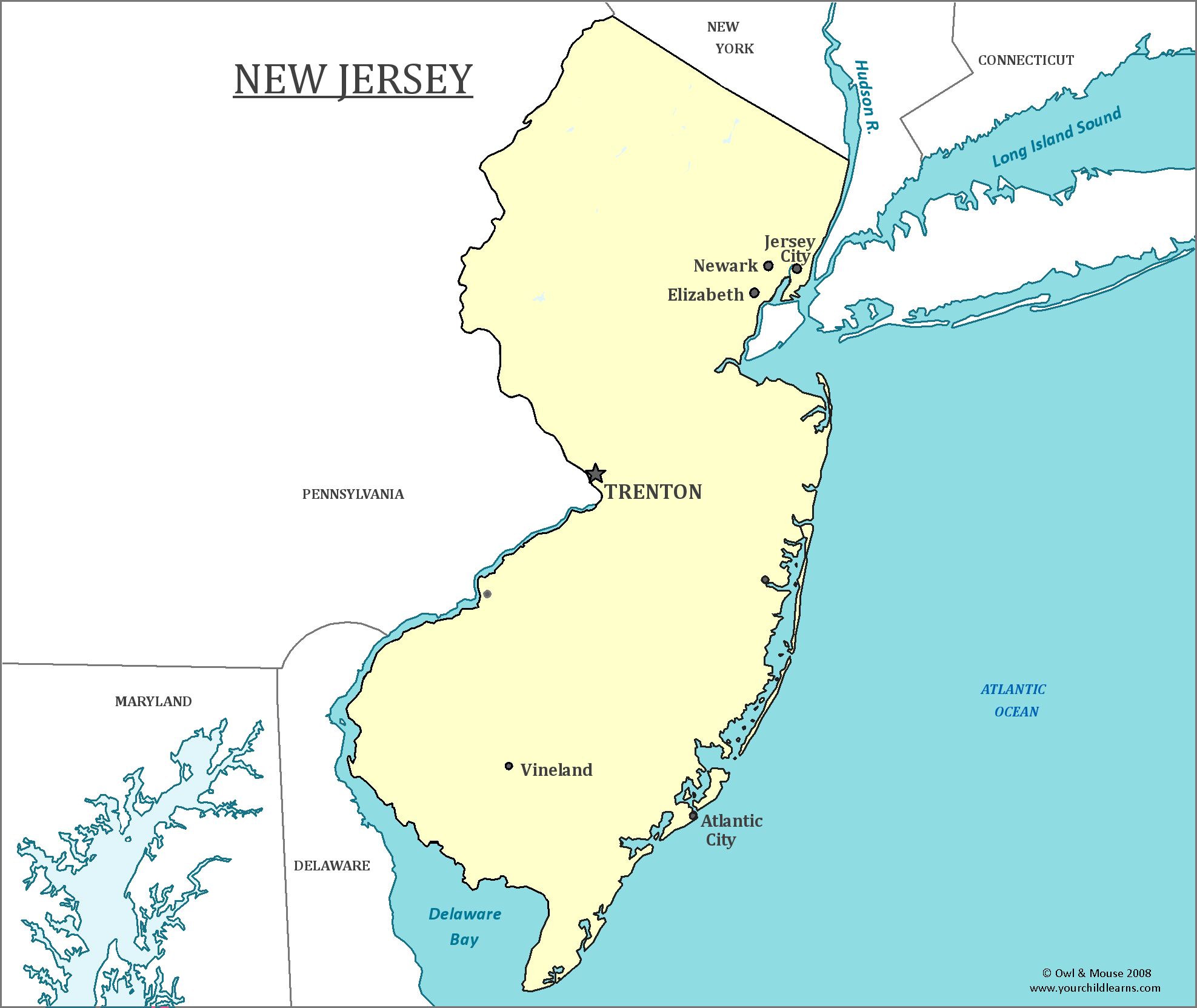 New Jersey Cities Lessons Tes Teach