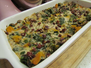 Butternut and Cremini Lasagna