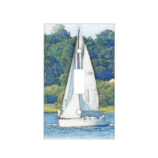 Sailing lightswitch cover switch plate cover