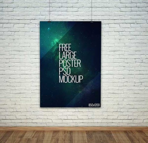 Poster Mockup Templates for Showcasing Your Designs
