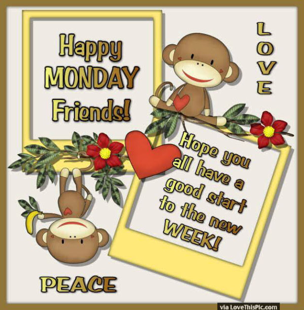 Monday Good Morning Wishes For Caring Friends Nice Wishes