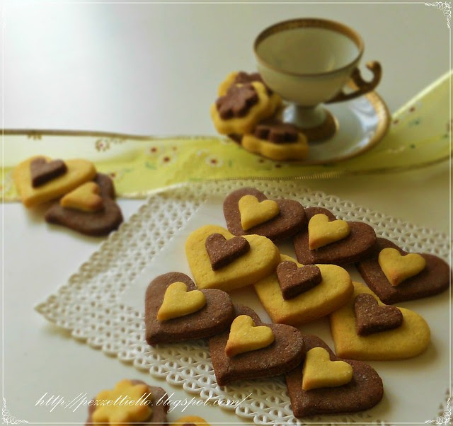Biscottini bicolore
