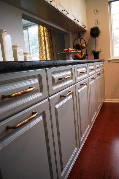 Gray Kitchen Cabinets - Transitional - kitchen - Benjamin ...