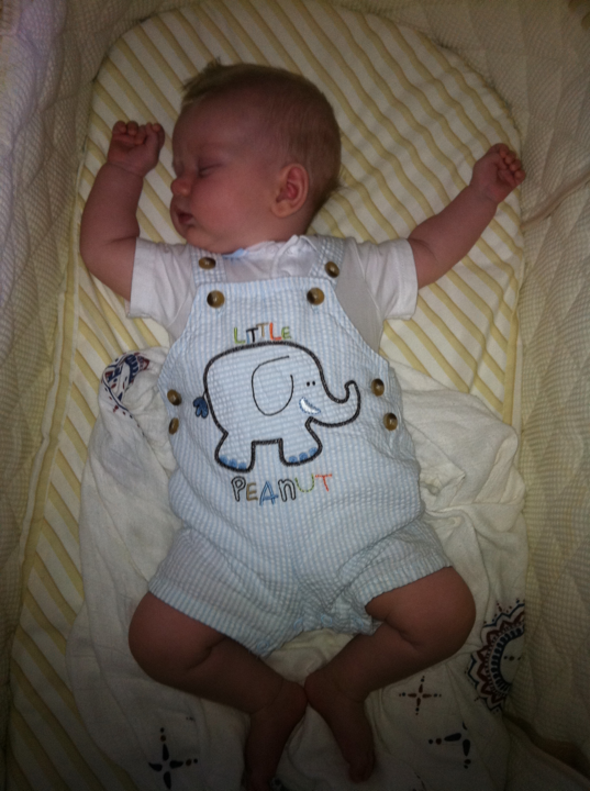 Baby-Little-Peanut-Outfit-3-Months-Old