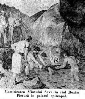 The Martyrdom of St Sabas