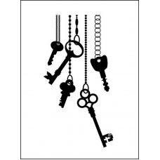 Ключи 2,8 см х 5,4 см