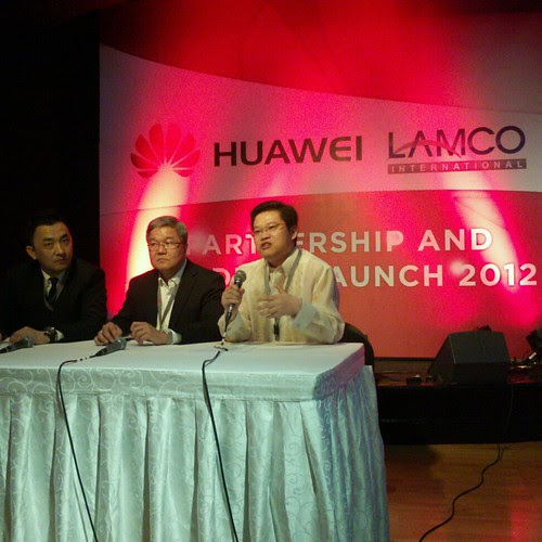 Huawei and Lamco partnership and product launch by popazrael