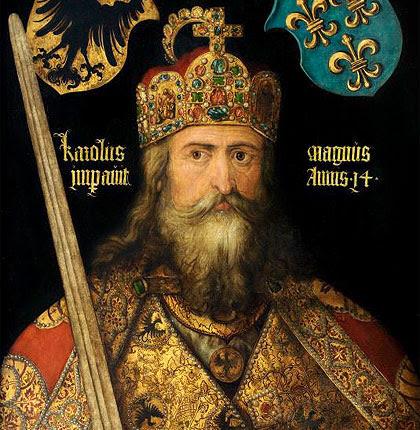 La coronación de Carlomagno