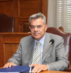 O πρώην  υπουργός Μεταφορών Τάσος Μαντέλης
