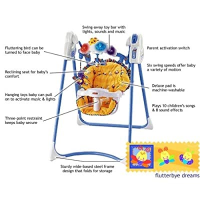 fisher price cradle n swing instruction manual