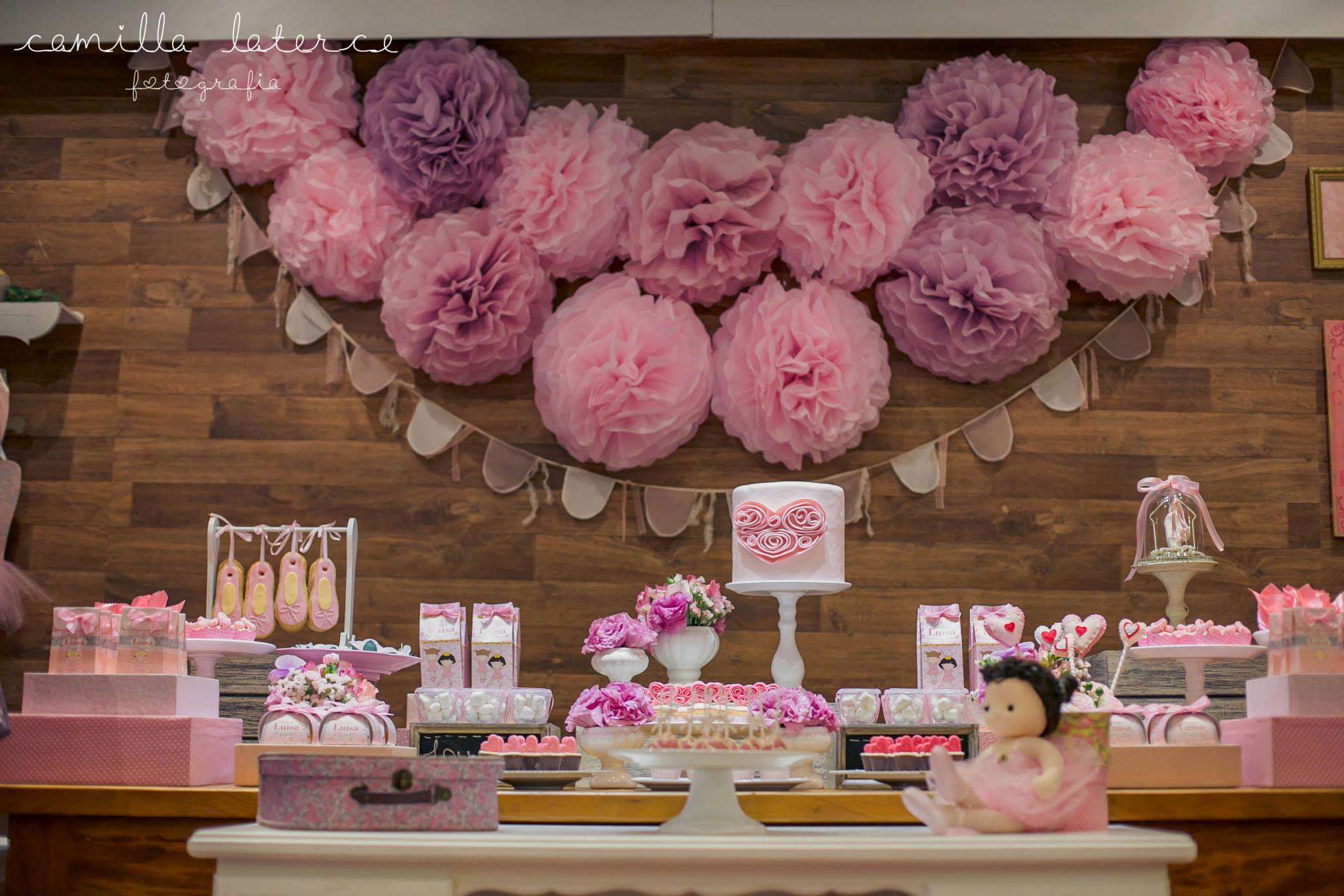 Sweet Ballerina Birthday Party - Birthday Party Ideas & Themes
