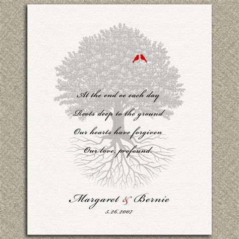 Personalized Family Tree of Life Love Forgiveness Poem 10th