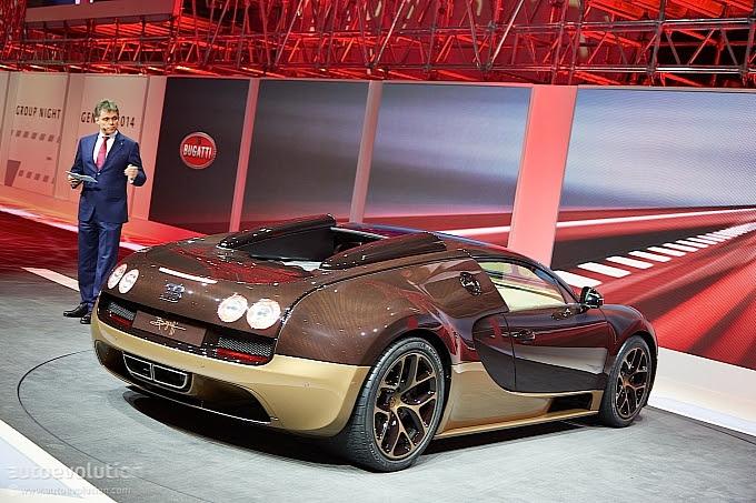 The Rembrandt Veyron, Seri Ke-4 Dari Bugatti Legend Edition