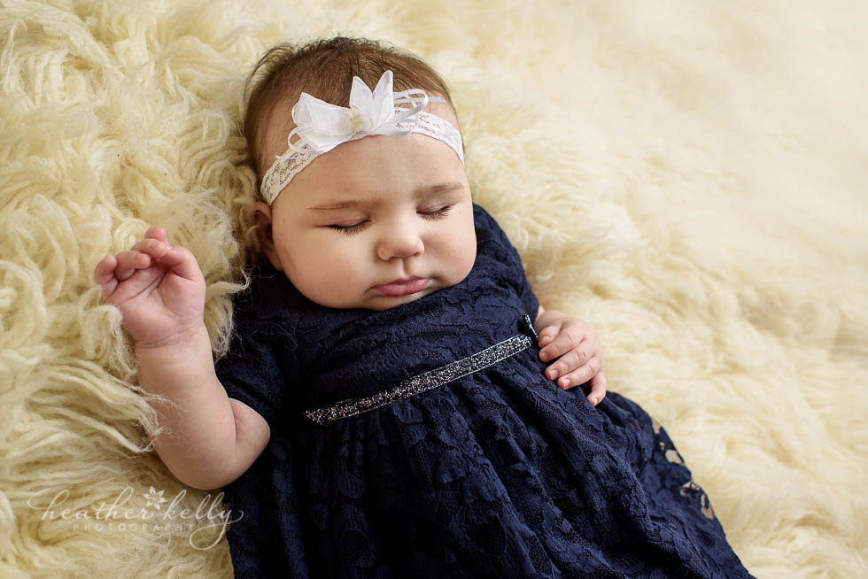 Sleepy Baby Girl By Heather Symes
