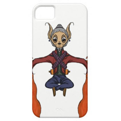 Layer for Iphone Mouse Monk iPhone SE/5/5s Case