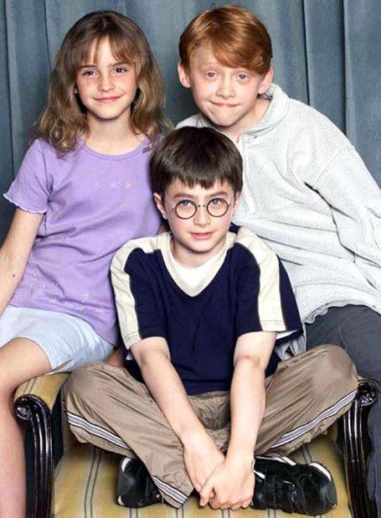 """Οι ηθοποιοί του """"Harry potter"""" τότε και τώρα (1)"""